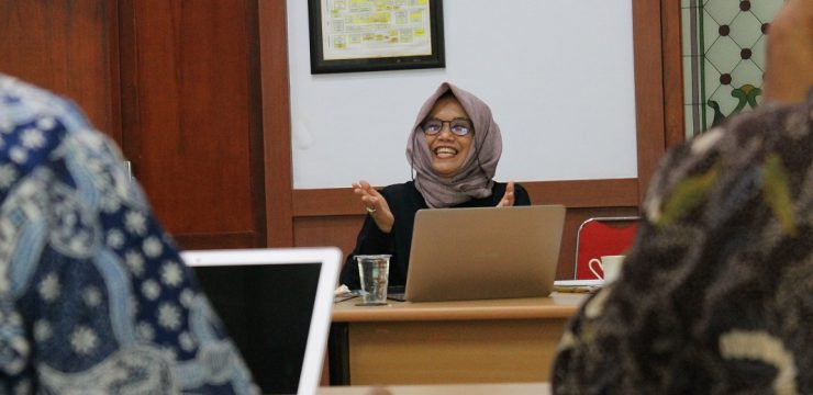 Preparation of AUN Visitation (Asian University Network), guided by AUN Coordinator from Gadjah Mada University, drg. Ika Dewi Ana, M.Kes., Ph.D