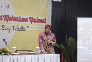 Dr. Ir. Tri Rismaharini, M.T The Mayor of Surabaya Provide Public Lecture to 300 Dental Students throughout Indonesia