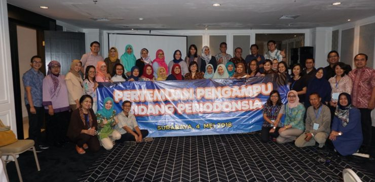 Faculty of Dental Medicine UNAIR, Hosts The Equation of Perception in Periodontics Science