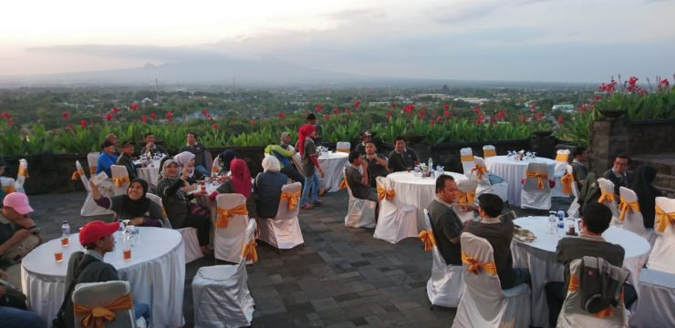 Happy To Gather: Staffs and Leaders Refreshments in Yogyakarta