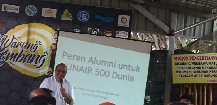 Faculty of Dental Medicine Invites Alumni to Speed Up UNAIR to be the Top 500 World Universities