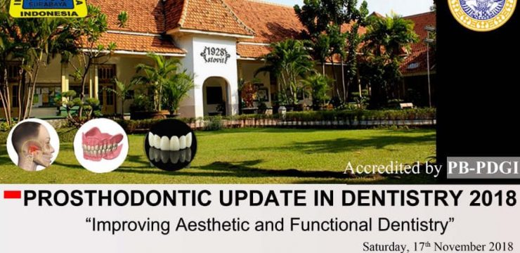 PRELIMINARY ANNOUNCEMENT: PROSTHODONTIC UPDATE 4