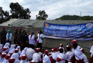 Alumni of FKG UNAIR-Marine Corps Hold Social Service in Bima, NTB